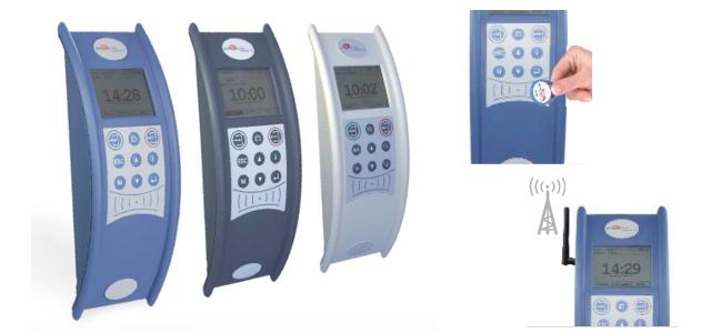 Zeiterfassungsterminals mit GSM/GPRS